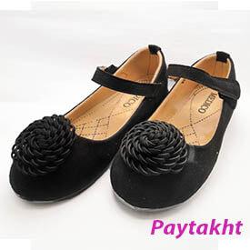 کفش کالج بچه گانه کفش مجلسی دخترانه مدل گلدار