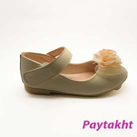 کفش مجلسی دخترانه گلدار توری