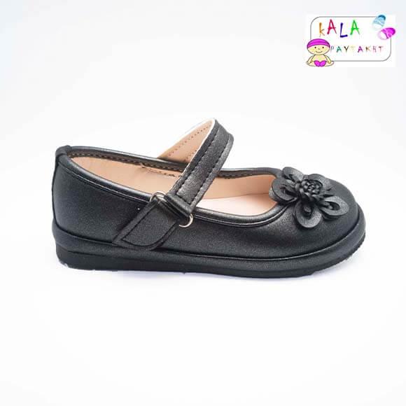 کفش مجلسی دخترانه مدل گلدار 01
