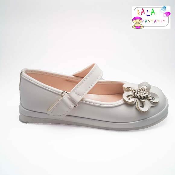 کفش مجلسی دخترانه مدل گلدار
